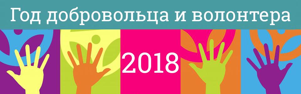 2018 год - год добровольца и волонтера